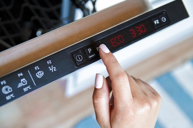 Energiesparmaschine mit digitalanzeige