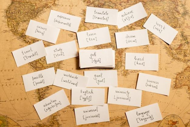 Englische wörter lernen job