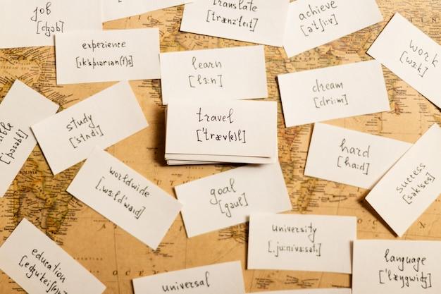 Englische wörter lernen reise