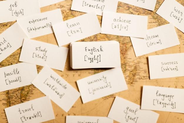 Englische wörter lernen