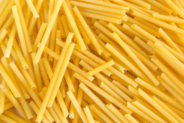 Entscheidend von nahem hohem des spaghettis, beschaffenheitshintergrund.