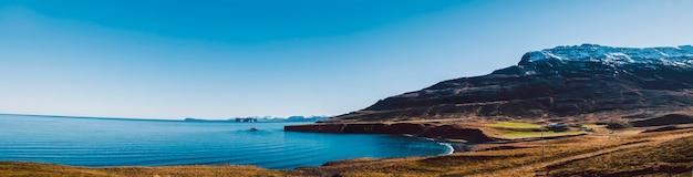 Entspannende landschaft zur beruhigung und stressabbau