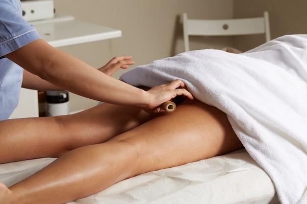 Entspannende thai-massage