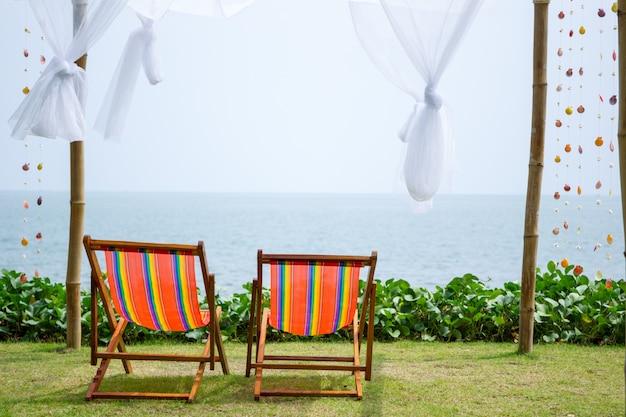 Entspannung am strand.