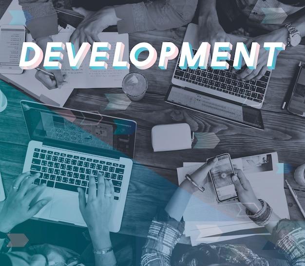 Entwicklungs-gelegenheits-strategie-verbesserungs-wort