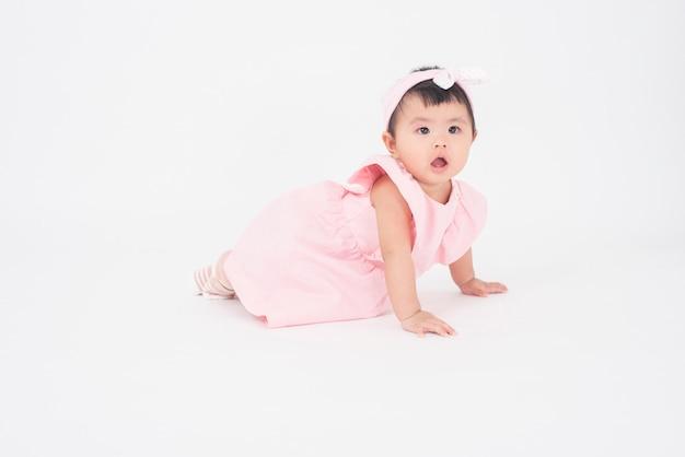Entzückendes asiatisches baby