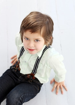 Entzückendes kind