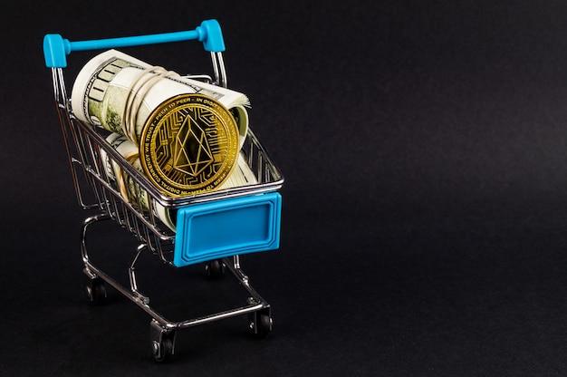 Eosio eos ist eine moderne art des austauschs und der internetmärkte