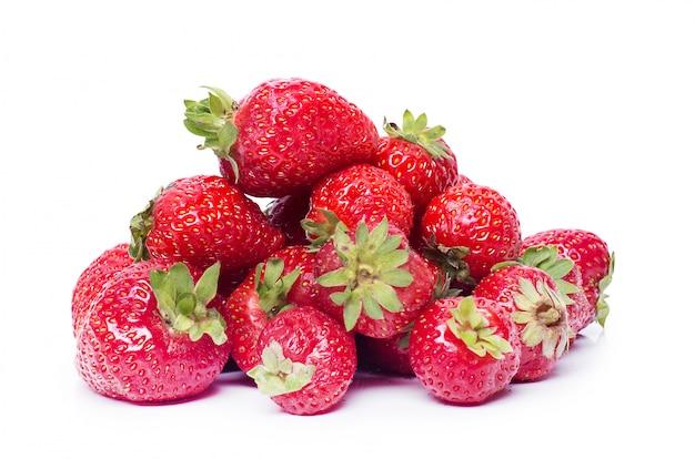 Erdbeere auf dem tisch