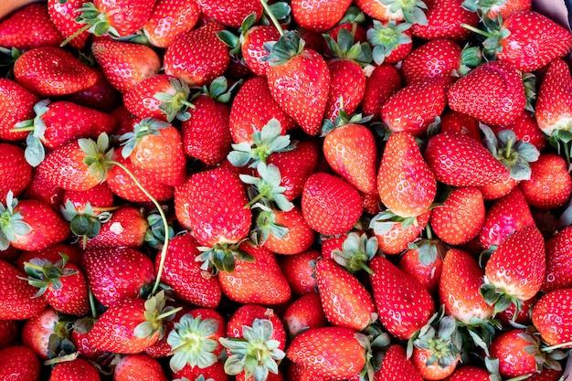 Erdbeeroberflächenerdbeere