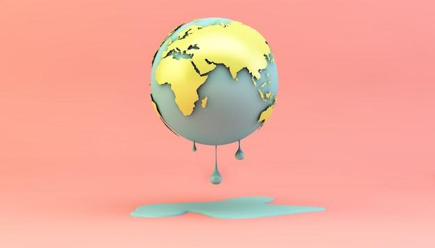 Erde schmelzen