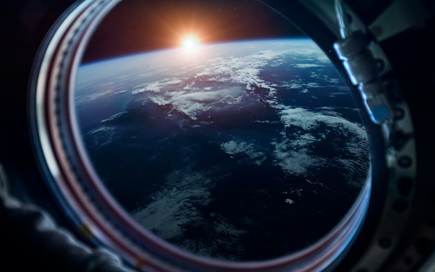 Erde. science-fiction-weltraumtapete, unglaublich schöne planeten, galaxien, dunkle und kalte schönheit des endlosen universums.