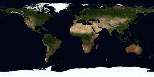 Erde sommer kontinenten map zonen juli klima