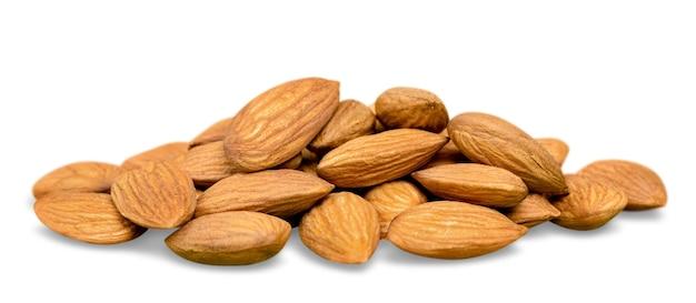 Erdnüsse, walnüsse, mandeln, haselnüsse, paranüsse und cashewnüsse zusammengemischt