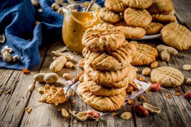 Erdnussbutterkekse