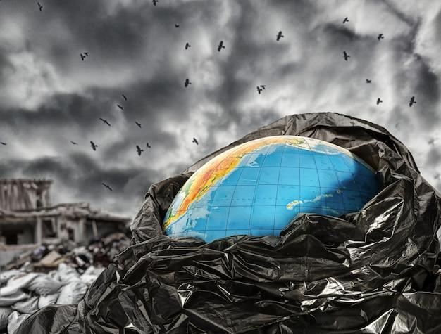 Erdverschmutzung