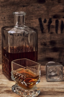 Erfahrener brandy