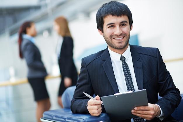 Erfolgreiche executive ein dokument bewerten