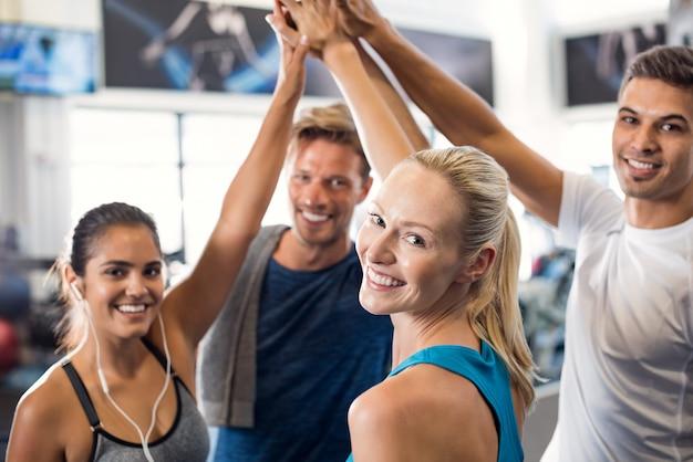 Erfolgreicher fitnesskurs