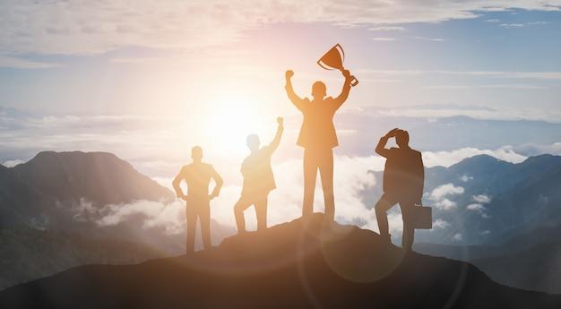Erfolgs- und geschäftszielerfolgskonzept