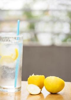 Erfrischende limonade