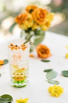 Erfrischendes sanddorn-cocktail-rezept