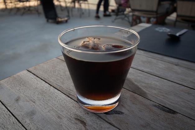 Erfrischungsgetränk im glas