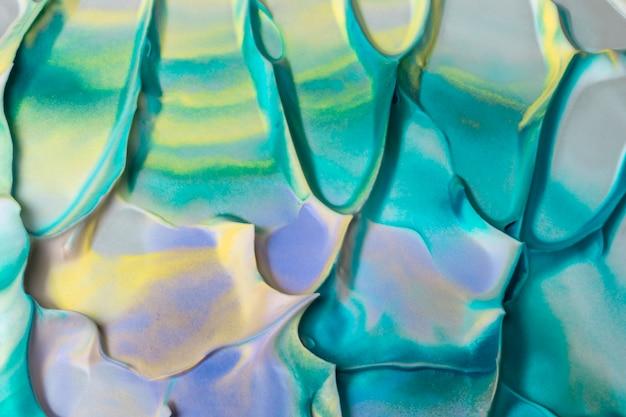 Erhöhte ansicht des künstlerischen aquarellbeschaffenheitshintergrundmusters