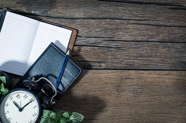 Erinnerungen an das notebook-konzept auf der tischansicht
