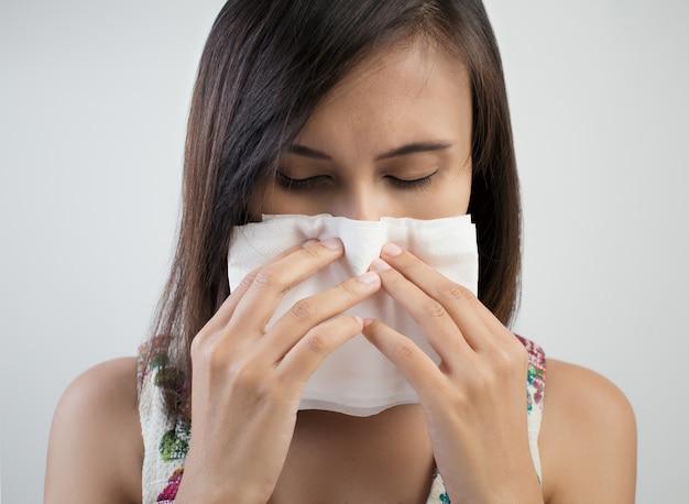 Erkältung oder allergiesymptom
