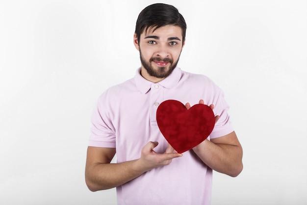 Erleben sie valentines liebe einsamen menschen