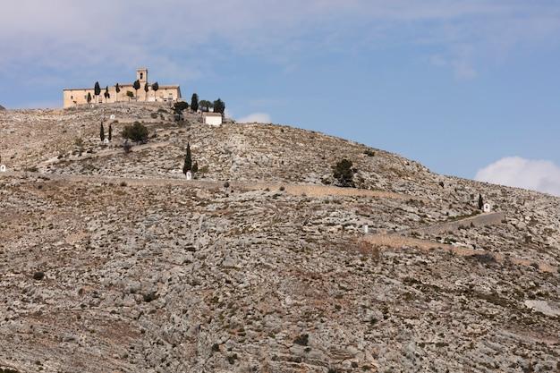 Ermitage oben auf dem hügel