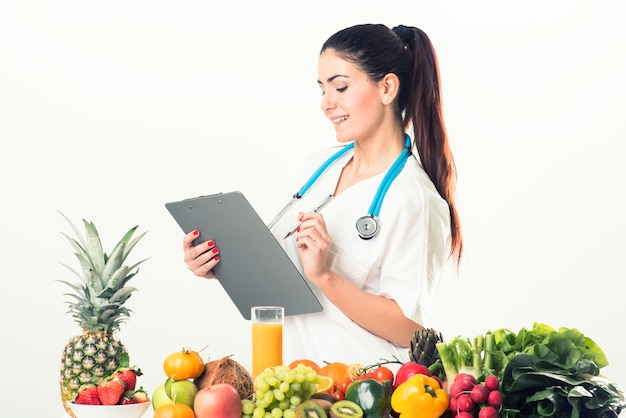 Ernährungsberater, diätassistent, essen.