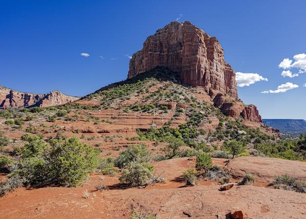 Erstaunliche aufnahme der bell rock landschaft in arizona, usa,