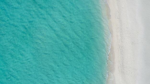 Erstaunliche vogelperspektive in malediven