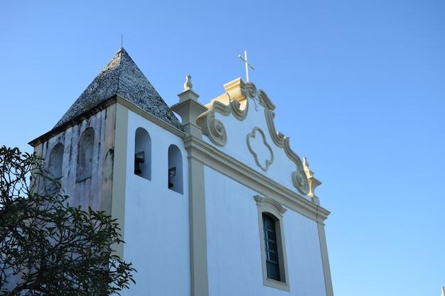 Erste kirche brasiliens in trancoso, bahia