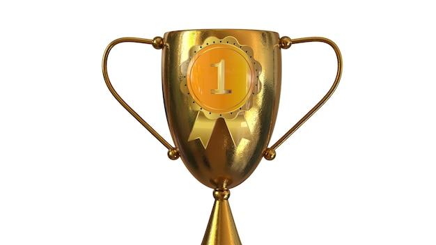 Erster platz gold award
