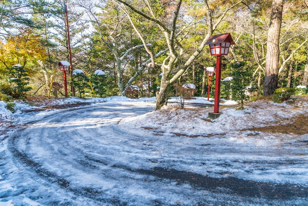 Erster schnee auf bergstraße