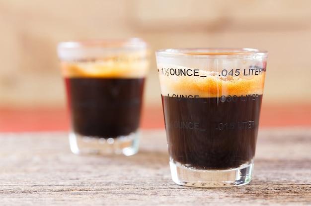 Espresso schnapsglas