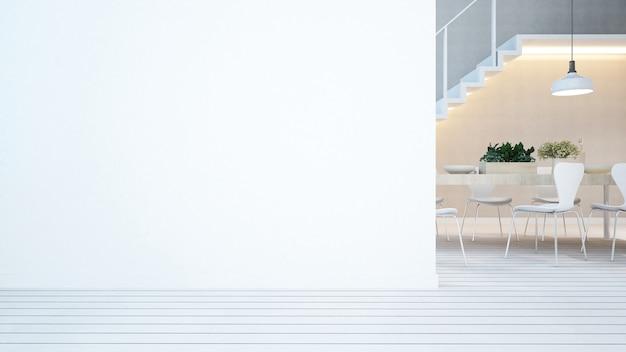 Essbereich und balkon in wohnung oder eigentumswohnung