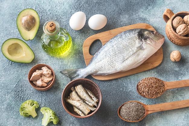 Essen mit omega-3-fetten