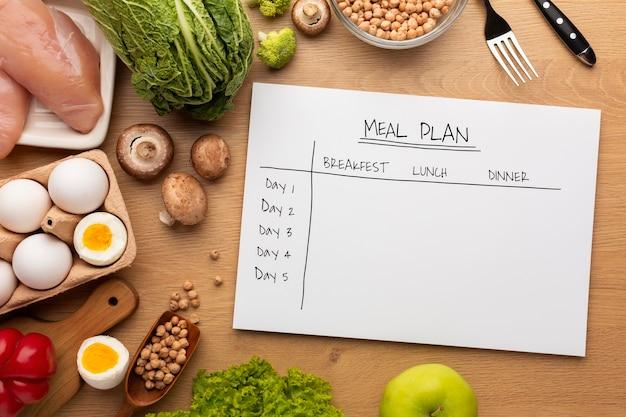 Essensplanung und verpflegung