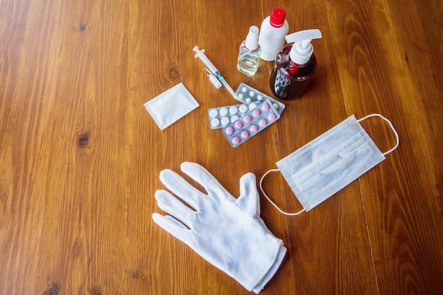Essentielle güter während der epidemie - prävention und schutz der ausbreitung des coronavirus