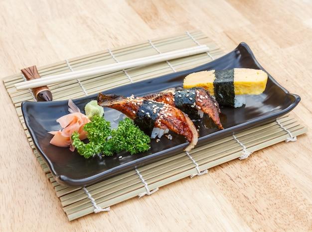 Essstäbchen hintergrund essen ei japan