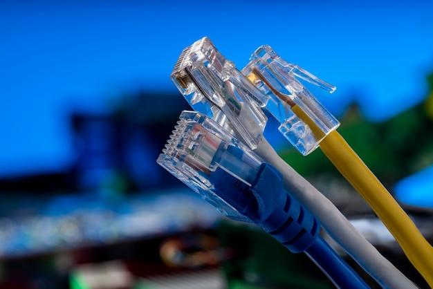 Ethernet für die internet-datenübertragung im world wide web