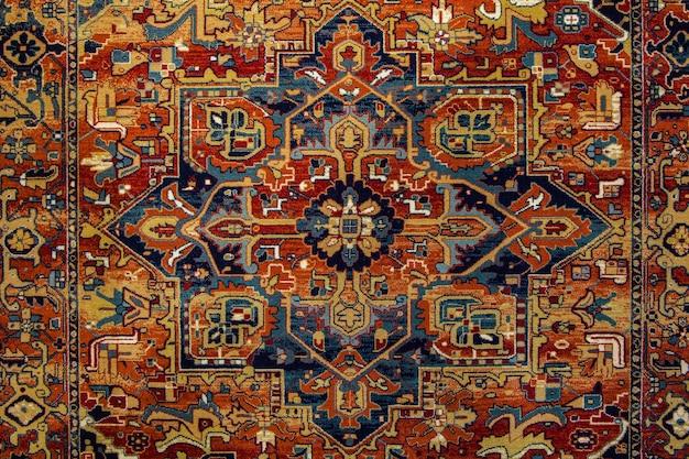 Ethnisches texturdesign. traditionelles teppichdesign. teppichschmuck.