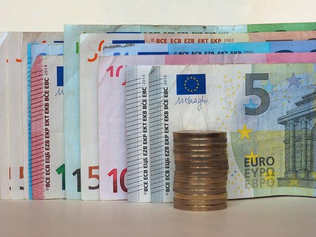 Euro (eur)-banknoten und -münzen, europäische union (eu)
