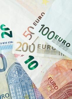 Euro-geld. euro bargeld hintergrund. euro-geld-banknoten