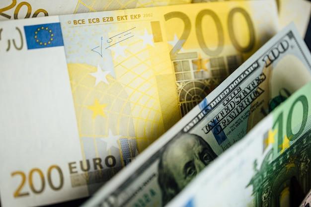 Euro-geld. euro-bargeld-hintergrund. euro-geld-banknoten