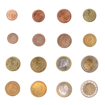 Euromünzen ganze serie